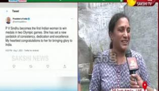 Happy To Win The Medal: PV Sindhu  Mother