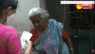 Distribution Of YSR Pension Kanuka in Andhra Pradesh