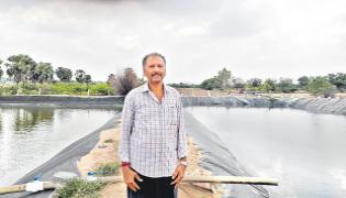 Construction Of Underground Pipelines Created By Venkateswara Reddy - Sakshi