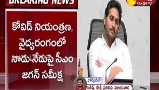 AP CM YS Jagan Review on Covid Situation