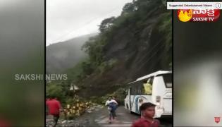 Road Blocked Due To Massive Landslide In Uttarakhand
