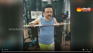Viral Video: Tamilnadu CM MK Stalin In Gym