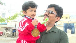 Hyderabad Child Sai Alankrita Create World Record In Weightlifting