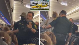 Woman Lights Up a Cigarette On Plane And Starts Smoking