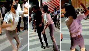 Arrest Lucknow Girl Viral Video Police File FIR Against Woman - Sakshi