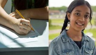 Indian American 11 year old girl is one of the brightest students in world - Sakshi