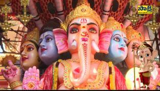 Khairatabad Ganesh Idol 2021 Special Video