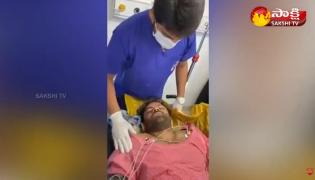 Sai Dharam Tej Treatment Exclusive Video