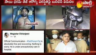 Tollywood Actor Sai Dharam Tej Road Accident At Jubilee Hills