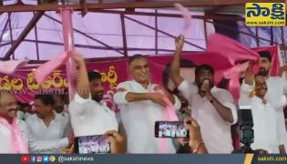 Telangana Minister Harish Rao Dance Video Gone Viral