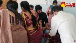 Chiranjeevi and Prakash Raj Condolences To Uttej and Family