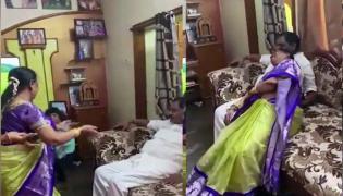 AP Deputy Cm Wife Dance On Bullet Bandi Song, Video Goes Viral - Sakshi