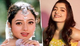 Actress Rashmika Wants To Act In Soundarya Biopic - Sakshi