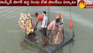Bathuku Chitram: Ganesh immersion