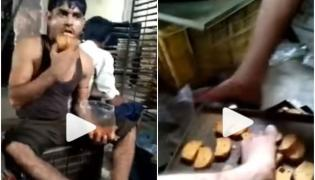 Raveena Tandon React On Viral Video Of Bakery Workers Put Dirty Feet On Toast, Lick Them - Sakshi