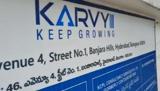 ED Officers Searching In Karvy Company In Hyderabad - Sakshi