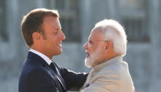 India And France Act jointly in Indo Pacific as France Fallout With US Australia - Sakshi