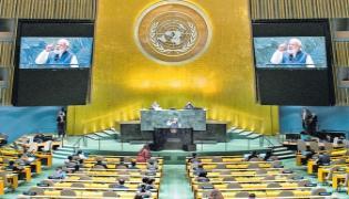 PM Narendra Modi sends Pakistan veiled warning on terrorism  - Sakshi