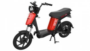 Detel Easy Plus electric bike launched at RS 39999 - Sakshi