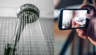 Madhya Pradesh: Police Woman Driver Filming Her During Shower - Sakshi