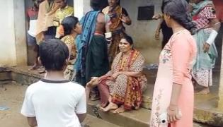 Telangana: Locals Attack On Anganwadi Teacher In Mahabubabad District - Sakshi