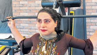 Aliya Farooq: Kashmir First Certified Women Fitness Trainer Successful Journey - Sakshi