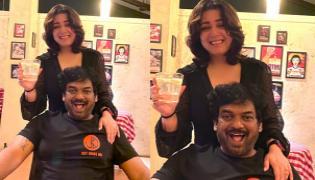 Charmi Kaur Special Birthday Wishes To Director Puri Jagannadh, Pic Goes Viral - Sakshi