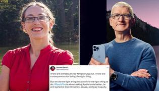 Apple fired Apple program manager Janneke Parrish  - Sakshi