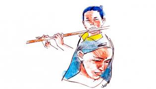Vamsi Krishna Anuvada Katha In Funday Magazine - Sakshi