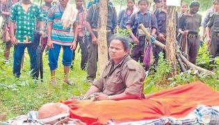 Maoist Party Leader RK Funeral In Chhattisgarh - Sakshi