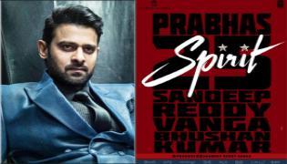Prabhas Taking Huge Level Remuneration With Sandeep Reddy Spirit Movie - Sakshi
