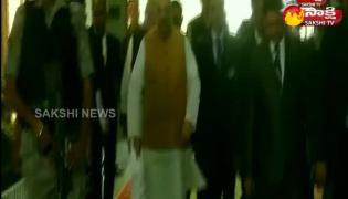 Amit Shah Meet PM Modi at His Residence To Discuss On Jammu And Kashmir Present Situation
