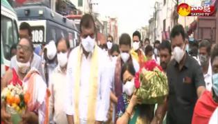 minister botsa satyanarayana participate in paidithalli jathara celebrations