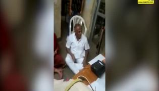 Viral Video: Congress MLA Dharna At Police Station In Rajasthan