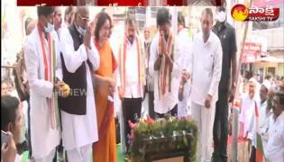 Rajiv Gandhi Sadbhavana Day Under The Auspices Of The Congress