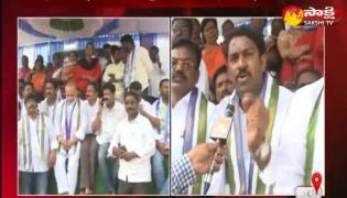 ysrcp leaders janagraha dikshalu in kadapa district