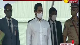 CM YS Jagan Participated Police Martyrs Remembrance Day 2021
