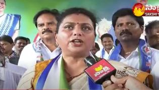 RK Roja Fire On Lokesh And Chandrababu
