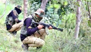 Jammu Kasmir: Gunfight Resumes Poonch Counter Terror Operation - Sakshi