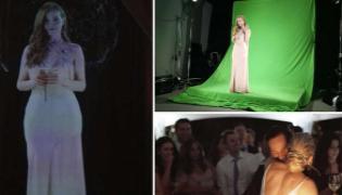 Bridesmaid Appears Her Friend Wedding Hologram Goes Viral - Sakshi