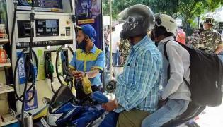 PETROL DIESEL PRICES TODAY FUEL RATES HIKED FOR FIFTH STRAIGHT DAY - Sakshi