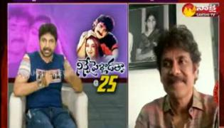 Interview with Nagarjuna and Tabu for 25 years for Ninne Pelladatha Movie