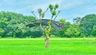 Harish Rao Shares Kaleshwaram Project Photo In Twitter Ranganayaka Sagar - Sakshi