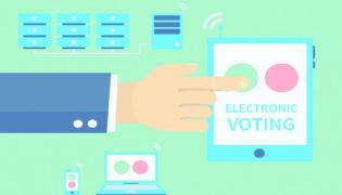 TS Develops Indias First Smartphone Based E Voting Solution In Khammam - Sakshi