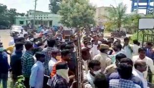 Conflict Between Paleru MLA Kandala Upender Reddy Followers - Sakshi