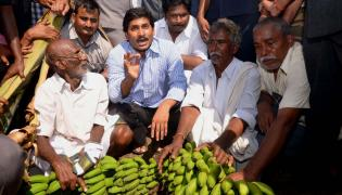 YS Jagan tour of helen cyclone affected areas