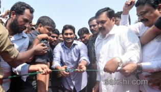YS jagan tour in Nellore district
