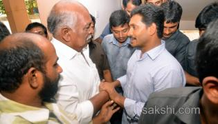 ys jagan attends marriage function