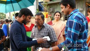 Gautham Nanda Working Stills