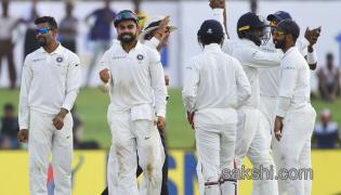 India On Top As Sri Lanka End Day 2